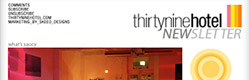 Email Markeing Client - ThirtyNineHotel